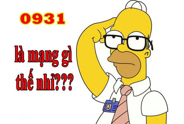 0931 là mạng gì?